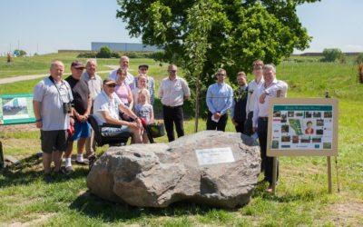 Penny Wakefield Community Woodland Opened in Blaze of Spring Sunshine