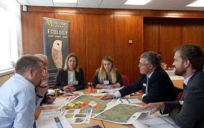 Ecological issues explained at our events for planners and developers