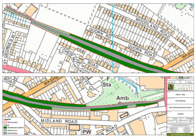 East Northamptonshire Council – Greenways feasibility study