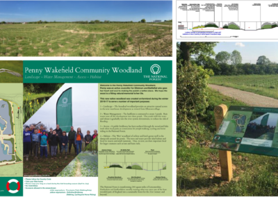 Whiting Landscapes, Ellistown – a new community woodland