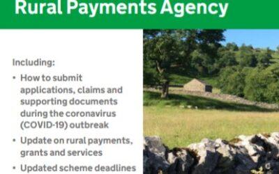 Rural Payment Agency Update – June 2020