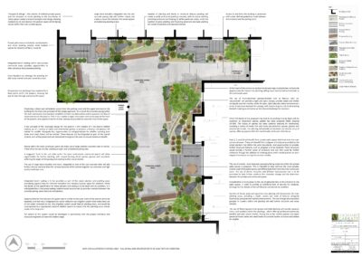 St Paul's House – Design of Podium Landscape