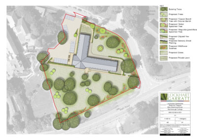 Elmhurst Triangle – Design of High Quality Landscape Setting