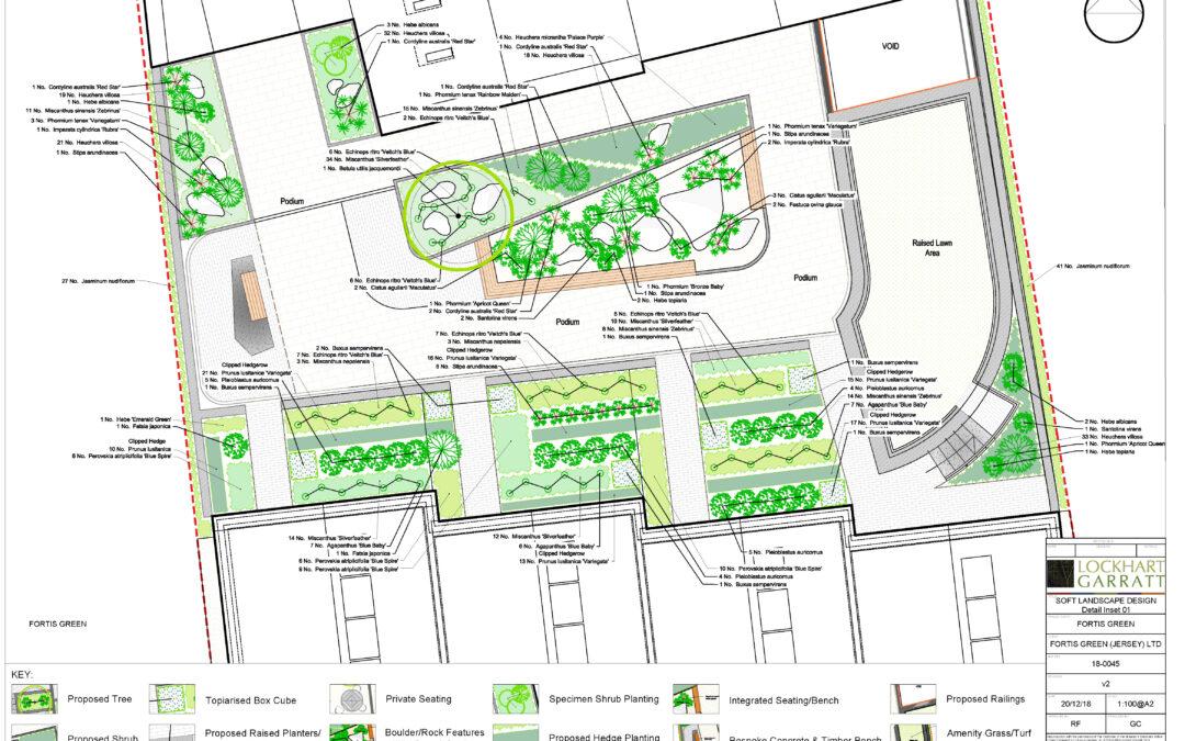 Fortis Green – Podium Landscape Design