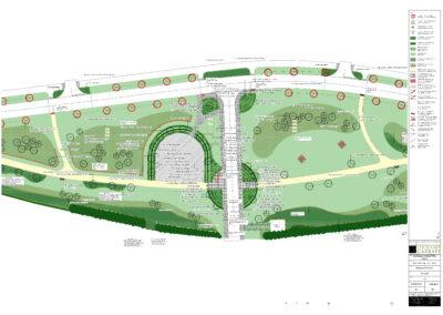 Linear Park Construction Management – Hanwood Park