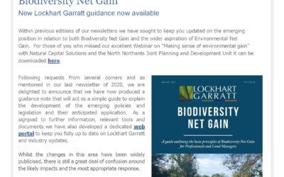 An update from Lockhart Garratt – January 2021