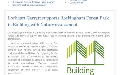 An update from Lockhart Garratt – March 2021